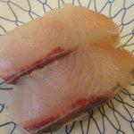 魚心 - 「かんぱち」120円
