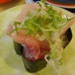 魚心 - 「ネギぶり」120円