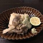 土家 - 天ぷら(太刀魚、舞茸、万願寺とうがらし)