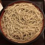 93201802 - 野菜天もり ¥390 の麺