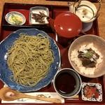 久田屋 - 飛騨牛時雨茶漬けと茶蕎麦のセット