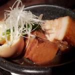 魚屋ひでぞう - 茶美豚角煮と半熟煮玉子 650円 角煮が柔らかくて、ウマイ(´∀`)