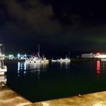 いろは寿司 - [2018/08]夜の勝浦港です。