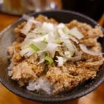 つけ麺 井手 - 豚ほぐし飯
