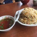 登来軒 - 料理写真:チャーハン 普通盛り