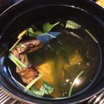 unagiwashokushirakawa - 肝吸いです。肝の香りが美味しい!