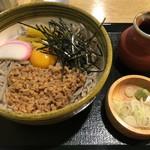 蕎屋 きよ福 - 料理写真:納豆そば