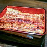 うなぎ 平八 - 料理写真:蒸焼きの鰻