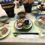 レストラン山河 - 料理写真:夕食