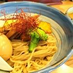 自家製麺 啜乱会 - カレーつけ麺 900円 味玉 100円