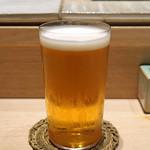 鳥おか - エビス 生ビール