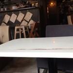 アメニテ ギンザ - 奥の席