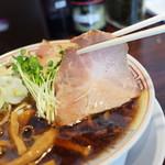 サバ6製麺所 - チャーシューも美味い!!