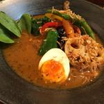 札幌スープカレー グリッター - ・やわらかチキンのスープカレー