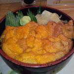 9322710 - 本日のウニ丼 1500円 【 2011年9月 】