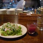 Pozzi - サラダとサングリア(ランチの ADDITIONAL SET)