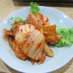 焼肉みよし - キムチ:350円