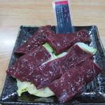 焼肉みよし - 米沢牛レバー:750円