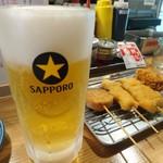 串カツ 博多空気椅子酒場 -