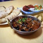 インド・ネパールレストラン ヒマラヤ - ナスカレーマサラ&ロティ&タンドリーチキン