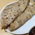 インド・ネパールレストラン ヒマラヤ - ロティのアップ