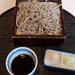 清かわ - 料理写真:田舎せいろ蕎麦(850円)