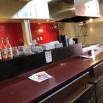 シナー カフェ - 店内カウンター