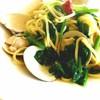 うまいもの工房 ザ・テラス - 料理写真:ハマグリとほうれん草のアーリオオーリオ