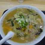 食事処 さか蔵 - みそラーメン650円