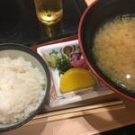 いけす円座 - 〆のご飯はもちろん釜炊き