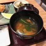 とんかつ 豚肉お料理 純 - お味噌汁