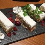 酒と飯スタンドゆうじ - コースのデザート