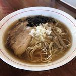中華蕎麦 會 - 煮干しそば ¥780