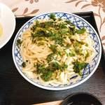 森屋 - 太麺冷盛り