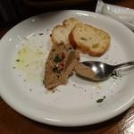 路地裏のタパス イシオカ - 鶏白レバーパテ