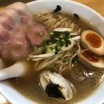 貝だしラーメン黒船 - 料理写真:
