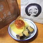 櫻園 - 料理写真:豆乳シュークリームと栗きんとん