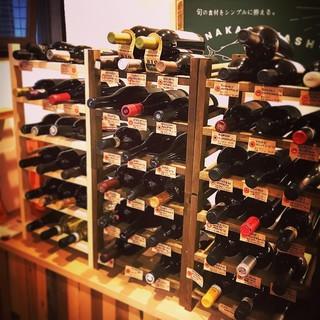 お酒を嗜む大人に…。ワインは<140種類>、日本酒もご用意