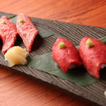 なか田 - 料理写真:『牛握り寿司』常連のお客様は必ず頼む一品!!
