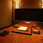 なか田 - 最大8名様の個室。5名様以上でご利用いただけます♪