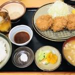 とんかつ 栄ちゃん - 料理写真:どろぶたひれかつハーフ1500円