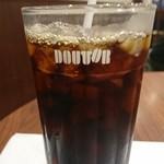 ドトールコーヒーショップ - アイスコーヒー \220