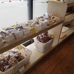 サンクス洋菓子店 - 素朴で美味しいパンでした