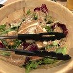 Kokori - 豆腐とごまドレッシングのサラダ