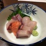 山小屋 - 料理写真:刺身