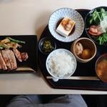 AZUMA - 料理写真:豚の味噌付け膳