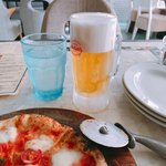 POSILLIPO cucina meridionale - 2杯目のビールに突入(^◇^;)