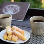 ほんたき山のカフェ - ラスクとコーヒー