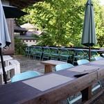 ほんたき山のカフェ - テラス席