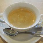 レストランHIRO - オリジナルハンバーグフォワグラ添え(1300円)セットコーヒー